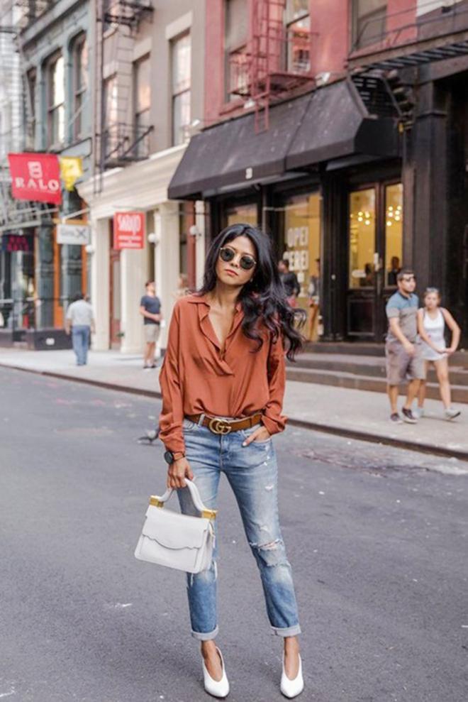 Muôn kiểu phối áo sơ mi giúp bạn mặc áo đẹp hơn gấp bội - hình 11 - zeeuni.com