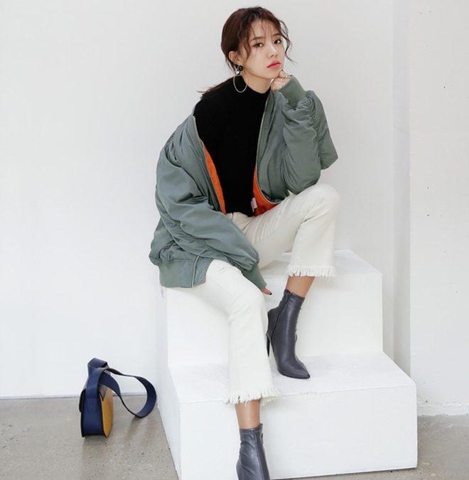 Phối áo khoác dù thật sành điệu chỉ với 5 bước đơn giản