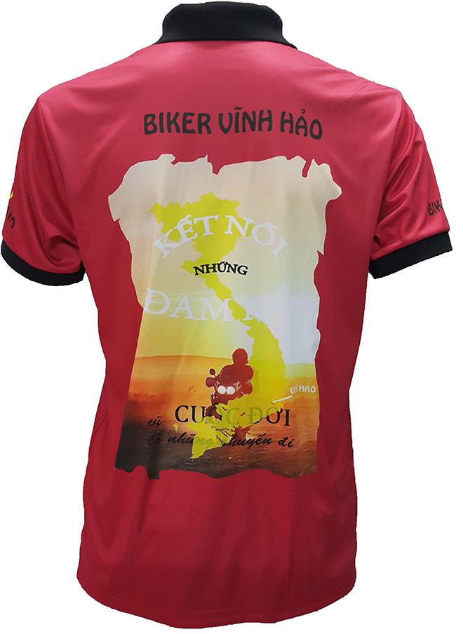 Áo nhóm phượt Biker Vĩnh Hảo - hình 4
