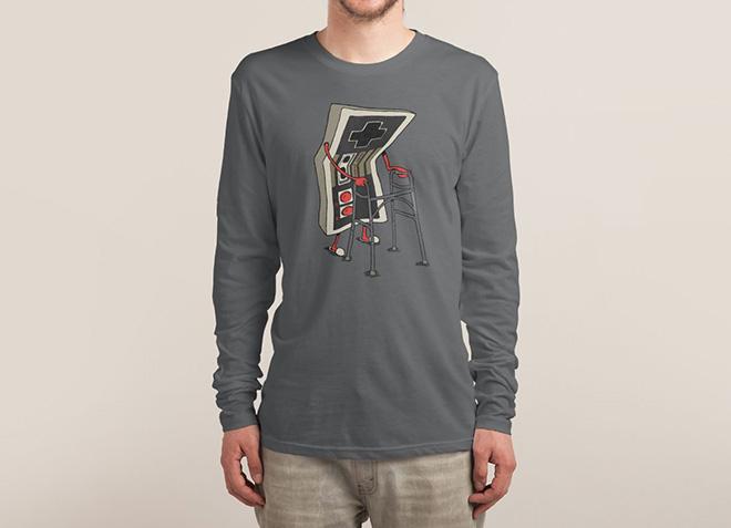 10 mẫu thiết kế áo thun đẹp nhất của Threadless - Pld Gamer - Hình 3