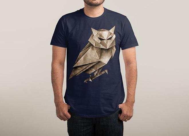 10 mẫu thiết kế áo thun đẹp nhất của Threadless - Owligami - Hình 2