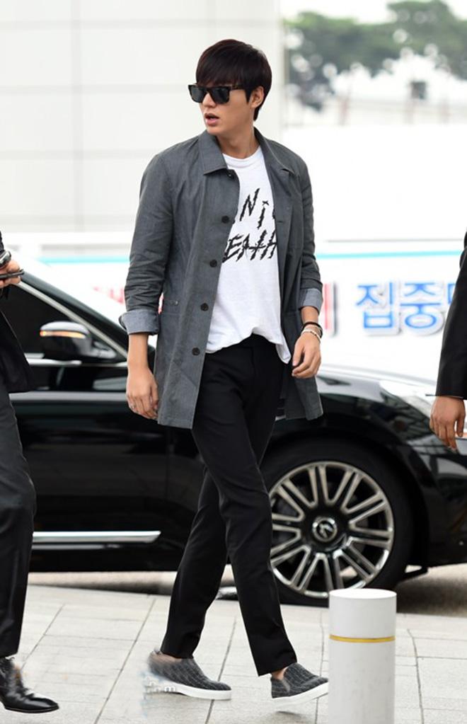 Thời trang sân bay của Lee Min Ho - hình 1