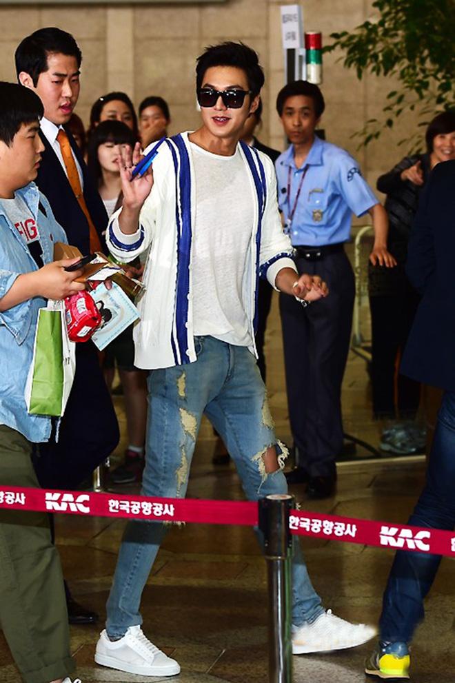 Thời trang áo thun của Lee Min Ho