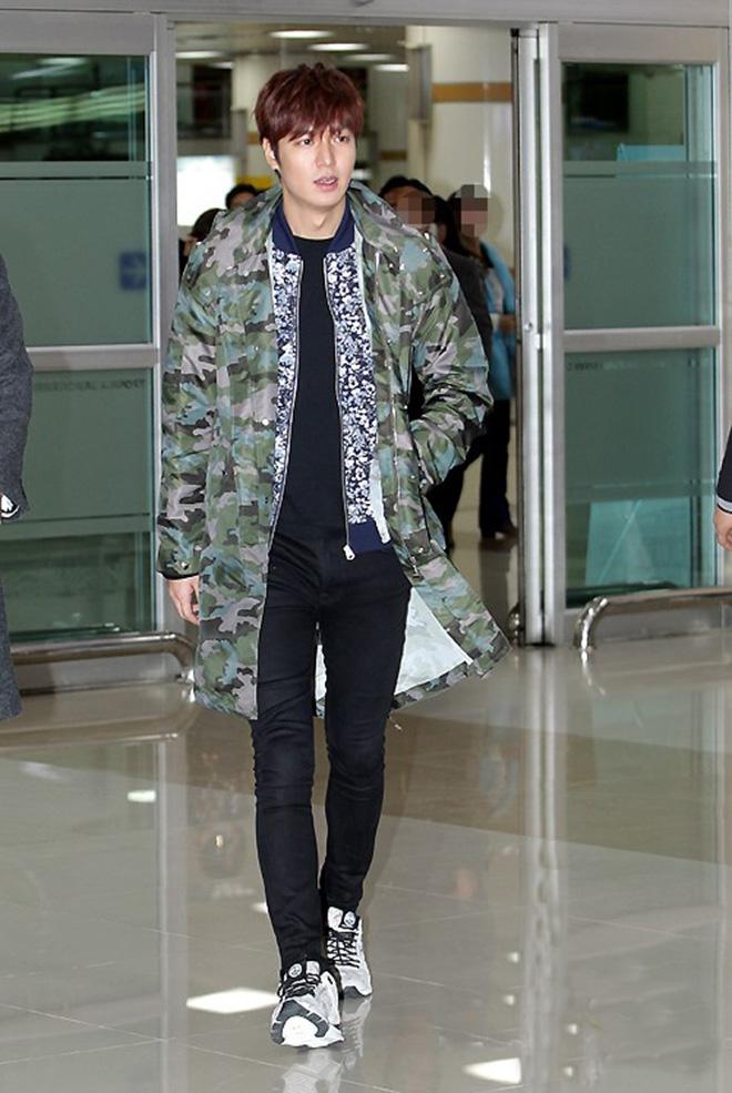 Thời trang sân bay của Lee Min Ho - hình 2