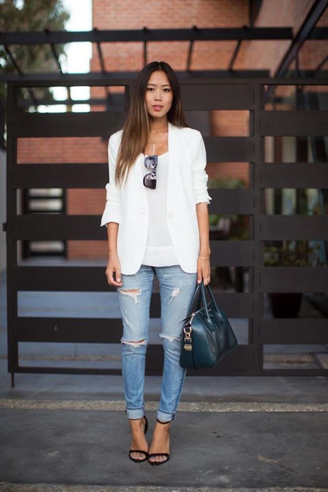 Phối áo thun trắng với 9 bước đơn giản - hình 1 -zeeuni.com