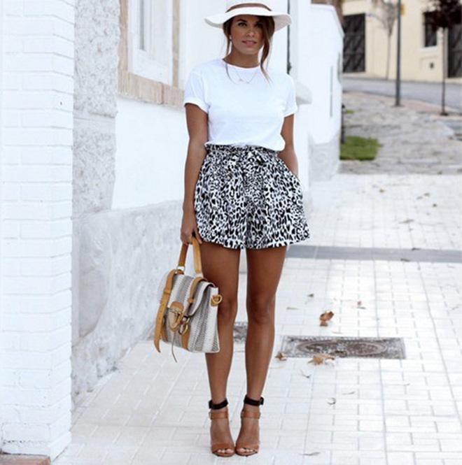 Phối áo thun trắng với 9 bước đơn giản - hình 2 -zeeuni.com