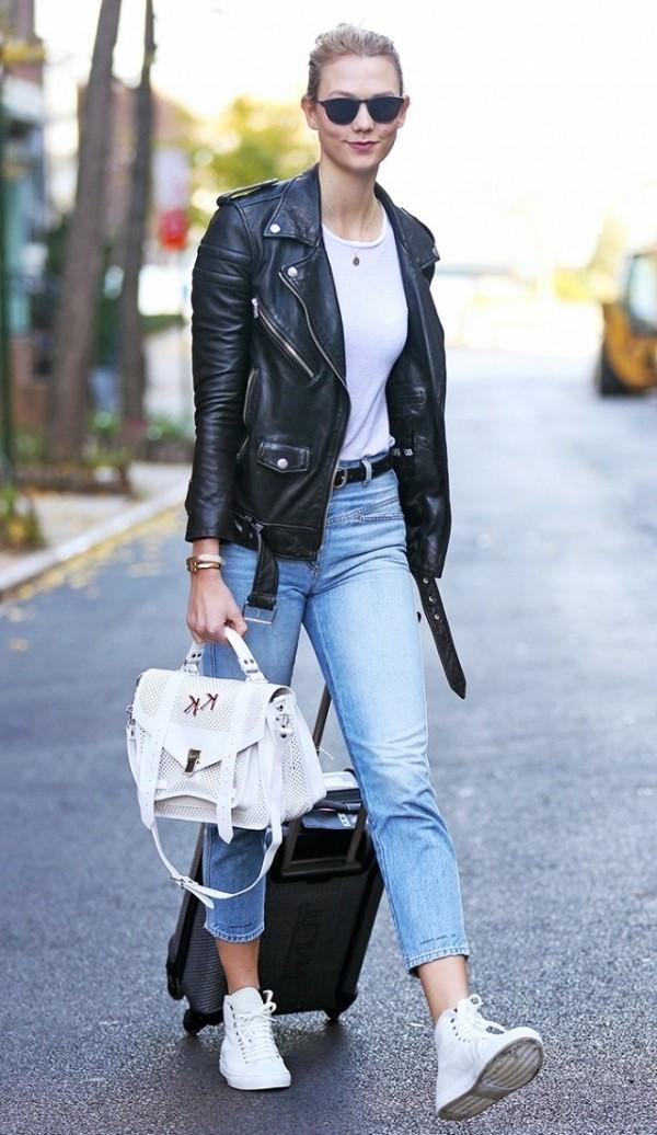 Phối quần jean với áo thun trắng - hình 14 - zeeuni.com