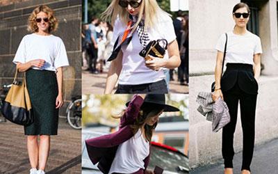 5 kiểu áo thun thời trang dành cho các bạn nữ mùa hè 2017