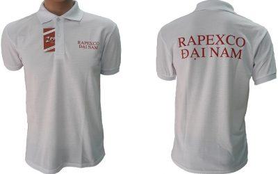 Áo thun công nhân của Rapexco Đại Nam