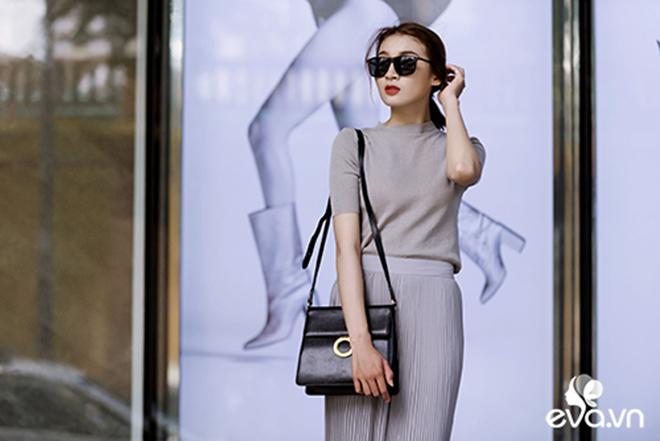 Thật sành điệu nơi công sở với 3 cách phối áo thun dệt kim thu đông - hình 10 - zeeuni.com