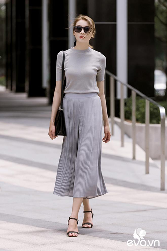 Thật sành điệu nơi công sở với 3 cách phối áo thun dệt kim thu đông - hình 11 - zeeuni.com