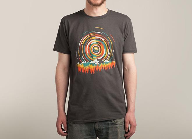 10 mẫu thiết kế áo thun đẹp nhất của Threadless - The Geometry Of Sunrise - Hình 2