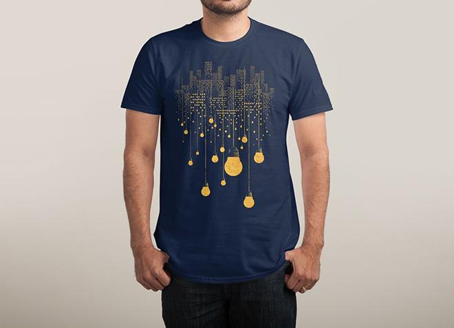 10 mẫu thiết kế áo thun đẹp nhất của Threadless - The Handing City - Hình 2