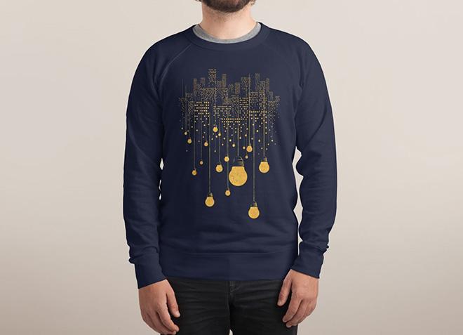 10 mẫu thiết kế áo thun đẹp nhất của Threadless - The Handing City - Hình 3