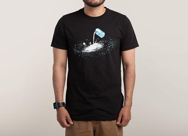 10 mẫu thiết kế áo thun đẹp nhất của Threadless - The Milky Way - Hình 2