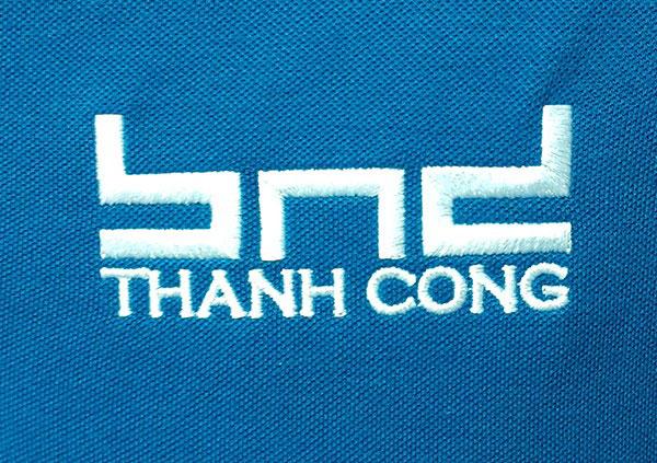 Thêu áo đồng phục tại Bình Dương logo Thành Công.
