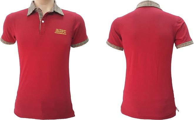 Áo thun đồng phục công sở của trường Việt Mỹ Edu