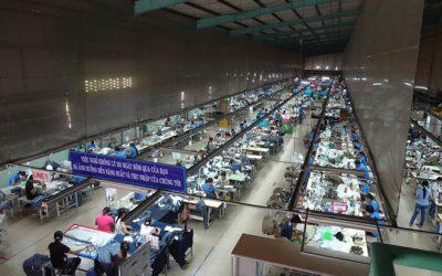 Xưởng may áo phông theo yêu cầu