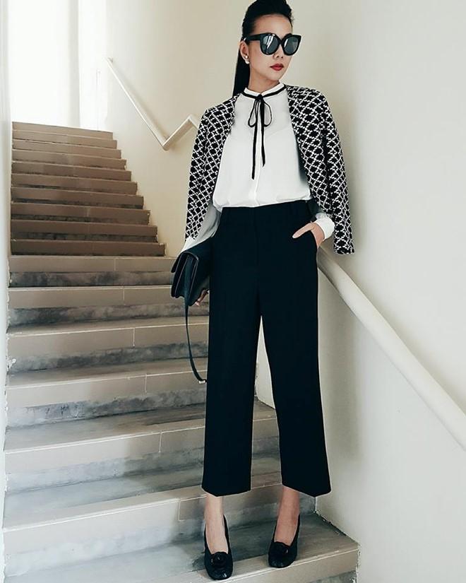 Cùng xuống phố sành điệu với bộ sưu tập áo khoác của Thanh Hằng - hình 8 - zeeuni.com